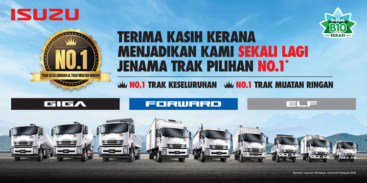 promosi isuzu malaysia promotion
