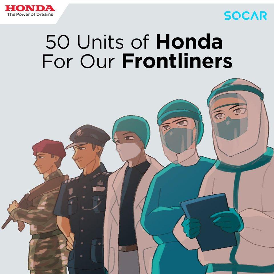 Promosi Honda Malaysia Covid 19