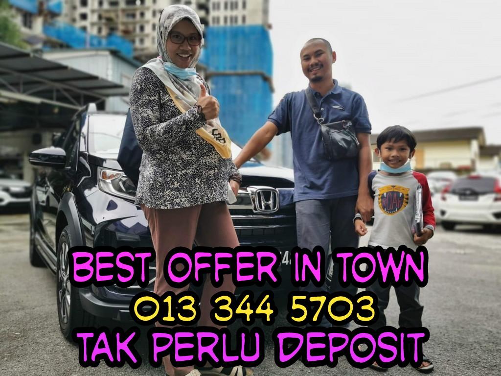 bayaran bulanan honda brv malaysia