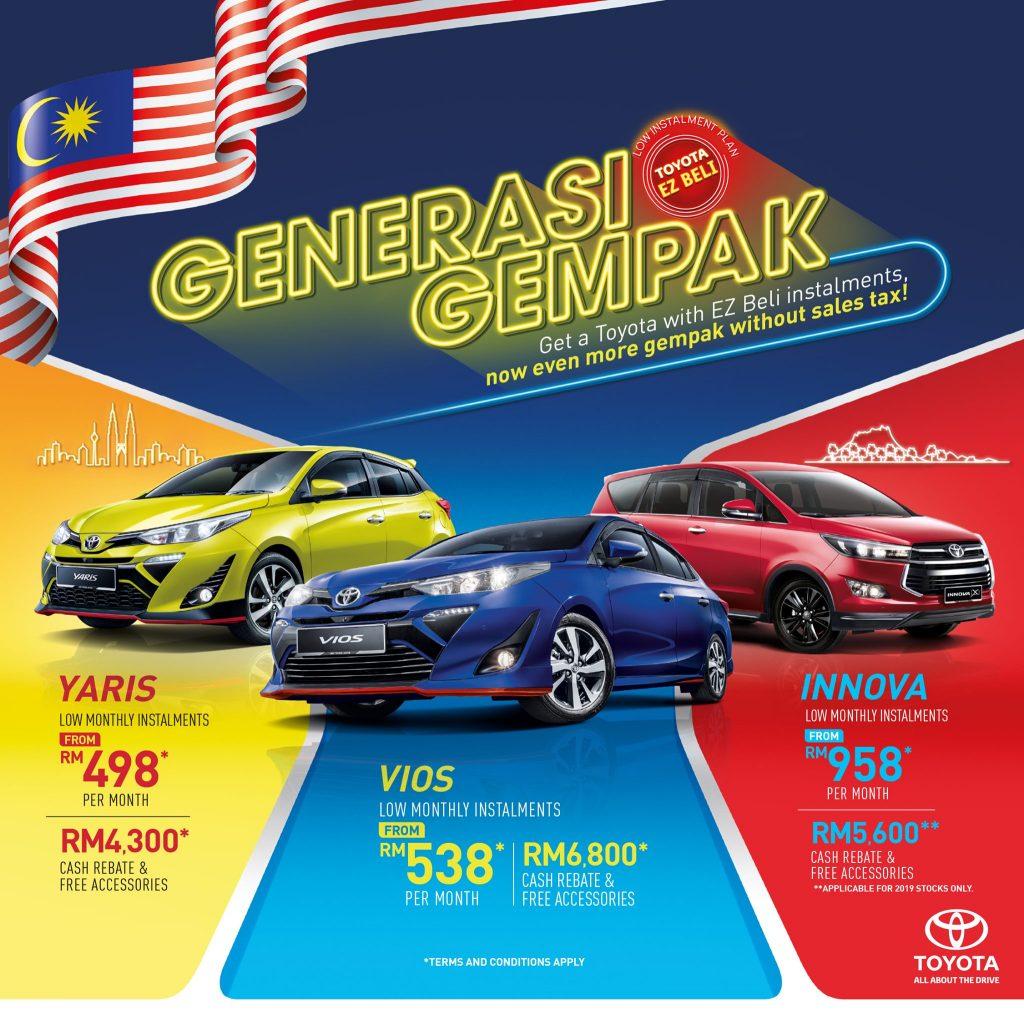promosi toyota malaysia
