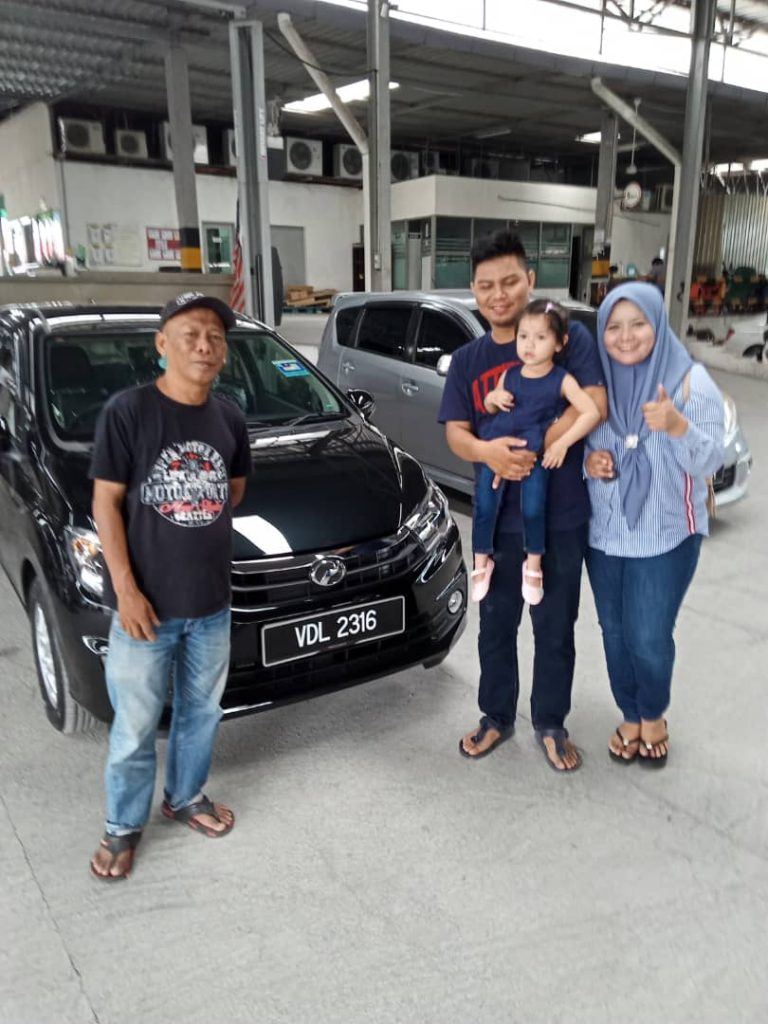 perodua alza full loan car